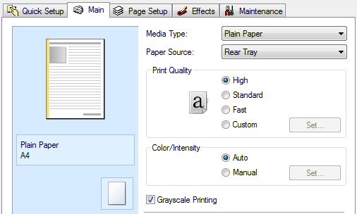 cara memperbaiki printer hasil putus-putus