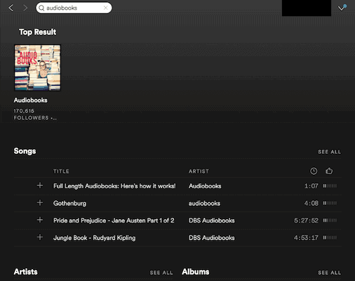 How to Find Audiobooks on Spotify