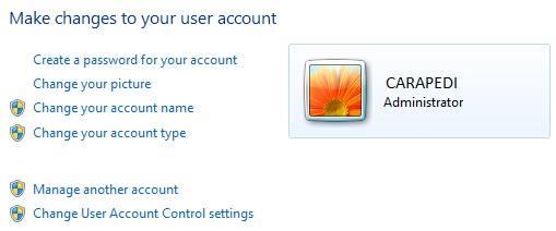 cara memberi password pada laptop windows 7