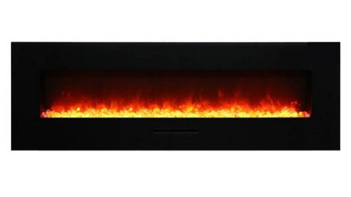 Amantii WM-FM-60-7023-BG-ICE linear fireplace