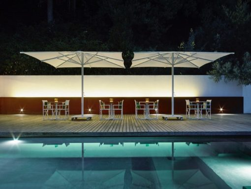 Jardinico JCP.201 Center Pole, Commercial Grade - By Pool