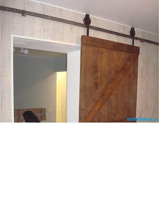 дверь1 лофт амбарная