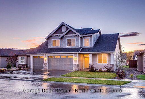 Garage Door Repair on New Home in North Canton Ohio