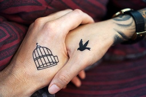 awesome matching tattoos