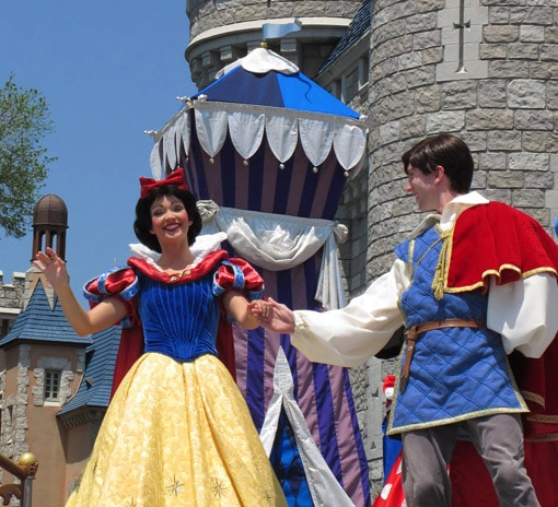 BRANCA DE NEVE MAGIC KINGDOM