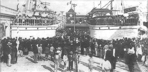 Inauguración de Puerto Barrios