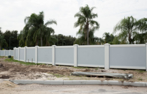 Permafence precast concrete fence by Permacast