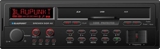 Youngtimer Radio Blaupunkt Bremen SQR46 Einbau in Berlin - Autoradio mit USB Bluetooth DAB+ Radio SD Karten Slot im Retrostyle
