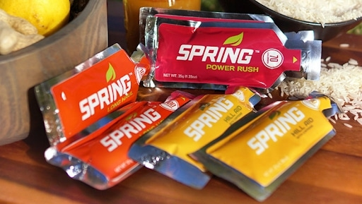 Натуральные энергетические гели Spring Energy