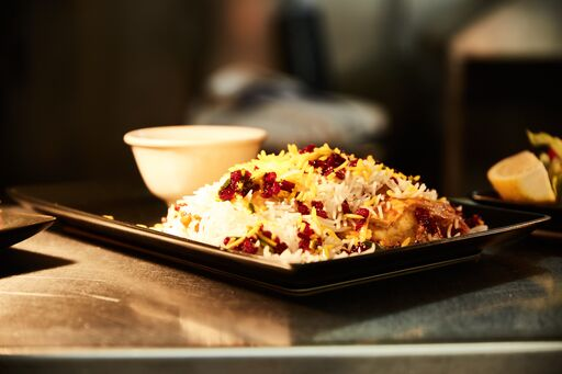 Chicken Barberry Rice