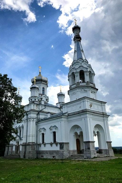 Church of St Alexandra, Peterhof, Russia