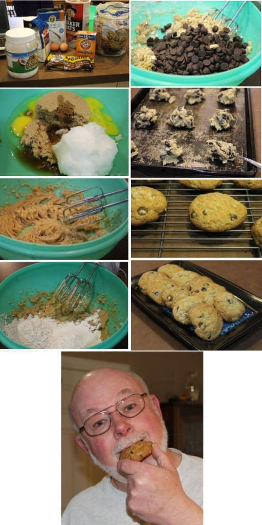 How to make Chocolaty Chip Gluten Free Cookies