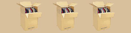 Tandem Moving Wardrobe-box