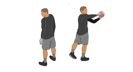 blind sides football receiver drill