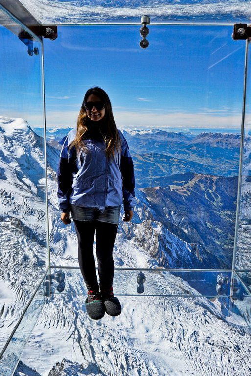 Aiguille du Midi, Step into the void, France – Experiencing the Globe