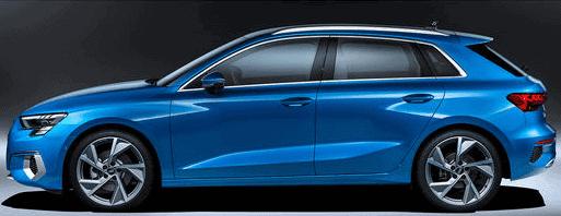 Audi A3 S3 RS3 sicherste Alarmanlage A3 S3 RS3 8Y ab Baujahr 2020