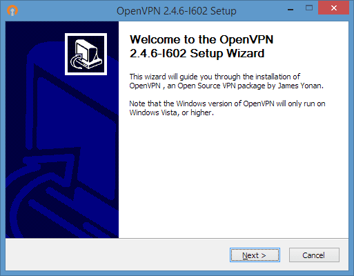 OpenVPN Installer options