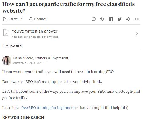 11 Different Ways to Get Traffic to Your Website for Free