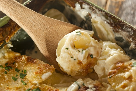 Scalloped Potatoes with Cheese