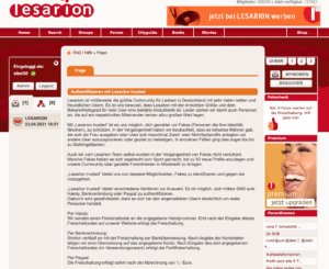 Lesarion Fakeschutz