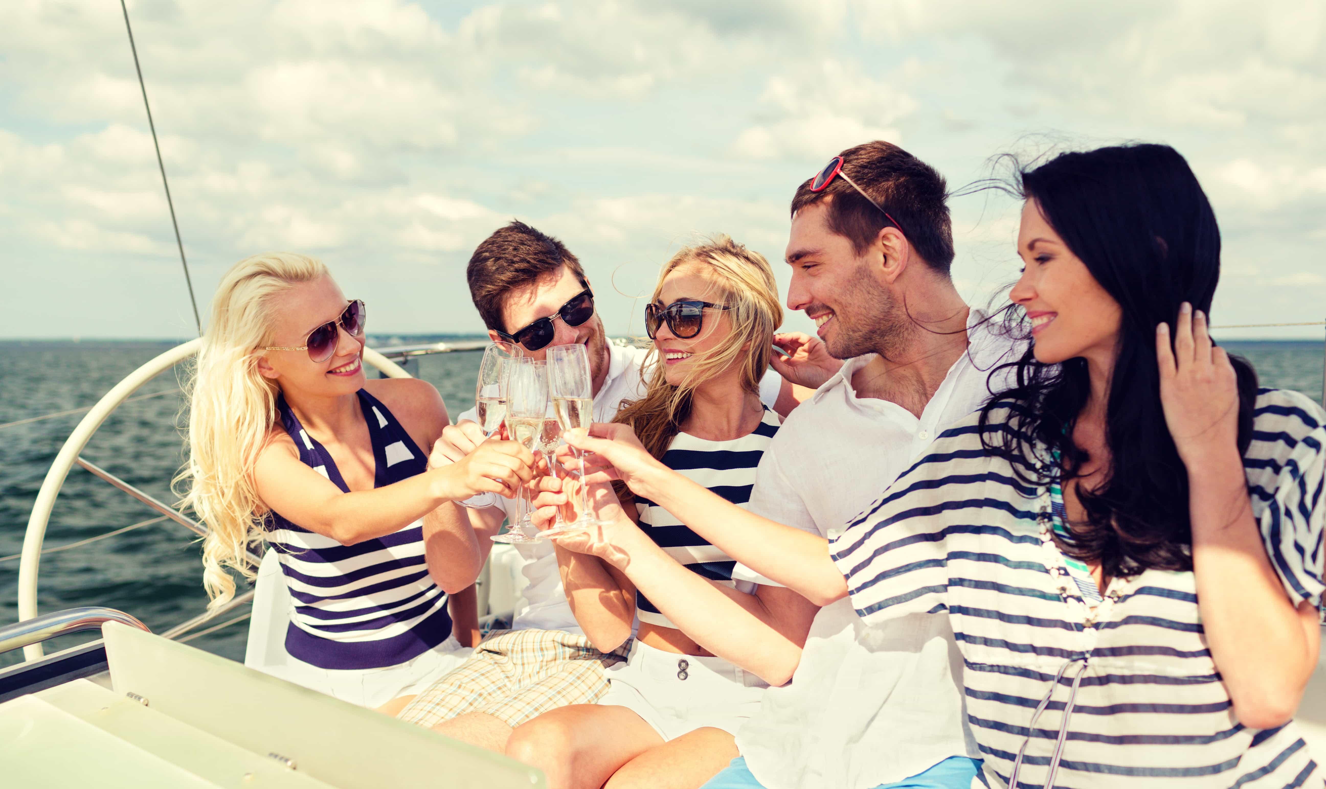 Despedida o divorcio en velero