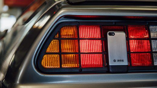 HEX x DeLorean iPhone Case