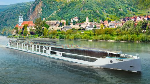 Crystal Mahler - Crystal River Cruises newest ship