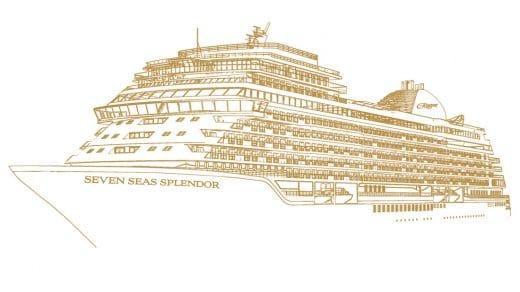 Seven Seas Splendor Sketch