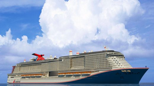 What the Carnival Mardi Gras ship will look like