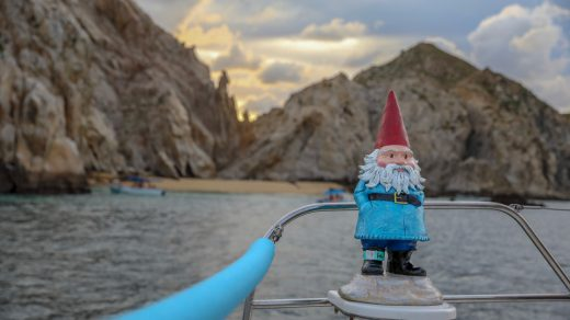 Travelocity Roaming Gnome in Los Cabos