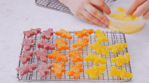 Homemade gourmet Sour Patch Kids