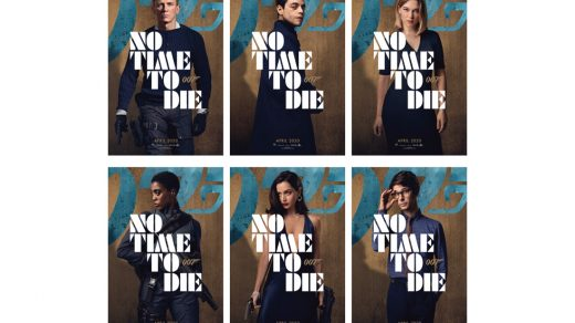 'No Time To Die' Character Posters