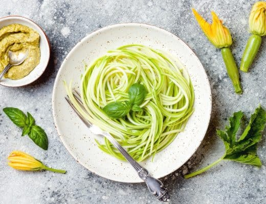Zucchini noodles a.k.a. Zoodles are an excellent way to reduce carbs, calories, and points in any recipe. These are some of the best Weight Watchers zoodle recipes available. Zoodles are quick and easy to make with a spiralizer and they even cut down on cooking time!