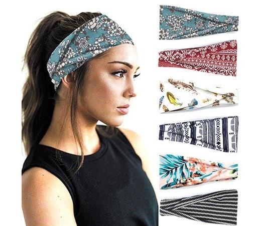 Boho style headbands | 40plusstyle.com