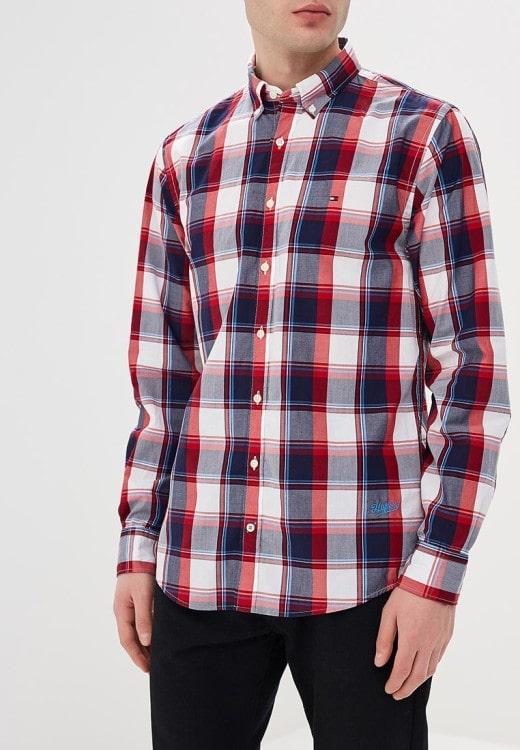 Рубашка из хлопка Tommy Hilfiger