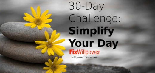 30-day challenge simplify your day