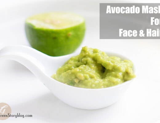Avocado Mask For Face and Hair