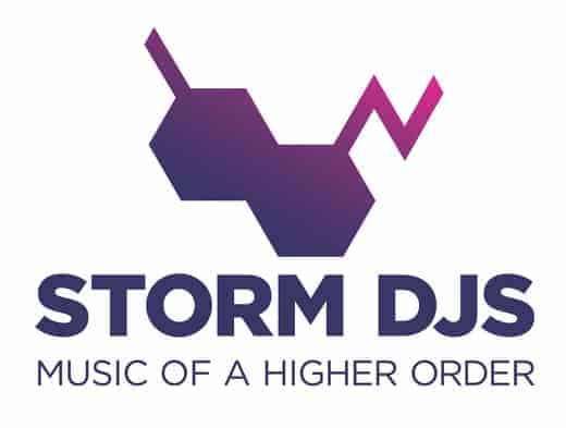 Storm DJs - logo - Quality DJ hire agency London