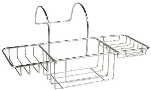 Bath Accessories Tub Caddy, Stainless Steel