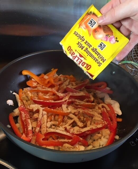 Old El Paso Chicken Fajita Kit - Gluten Free