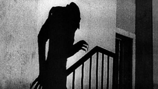 Le vampire de Murnau dans Nosferatu (1922)