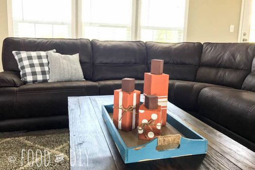 Easy and adorable DIY wood pumpkins