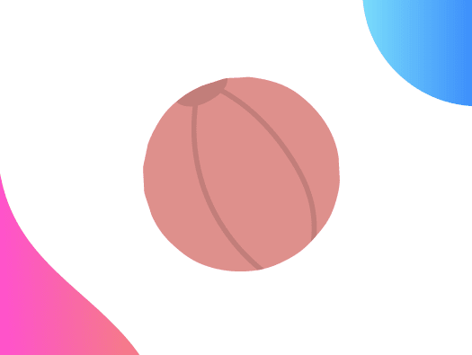 Image shows illustration of a ball that can be used when playing Ball Race, the training energiser.