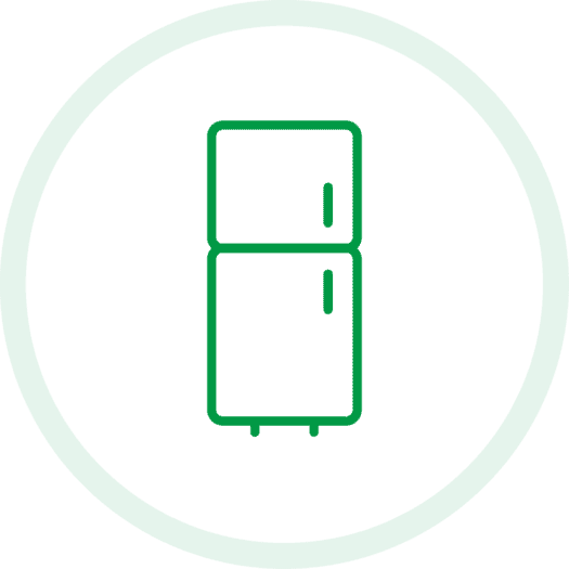 Domestic Fridge Icon
