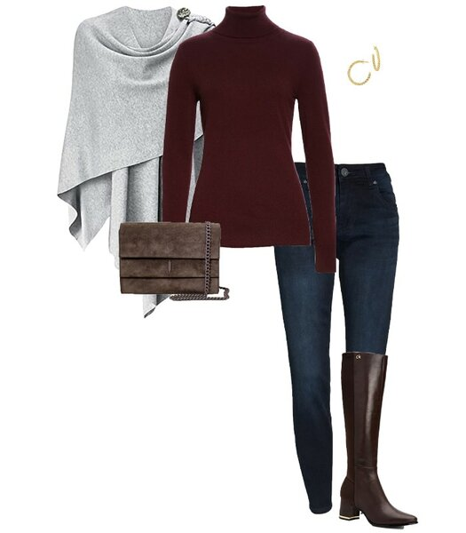 Winter layering ideas for winter outfits for women | 40plusstyle.com