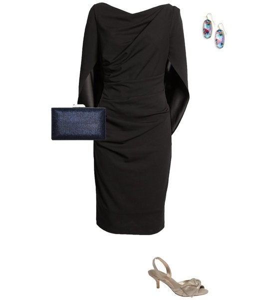 Christmas party outfit 9: A little black dress | 40plusstyle.com
