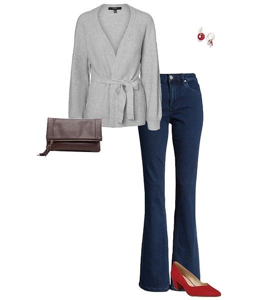 Wrap cardigan | 40plusstyle.com