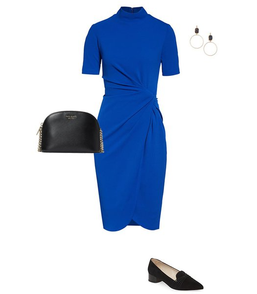 wearing loafers with a dress | 40plusstyle.com