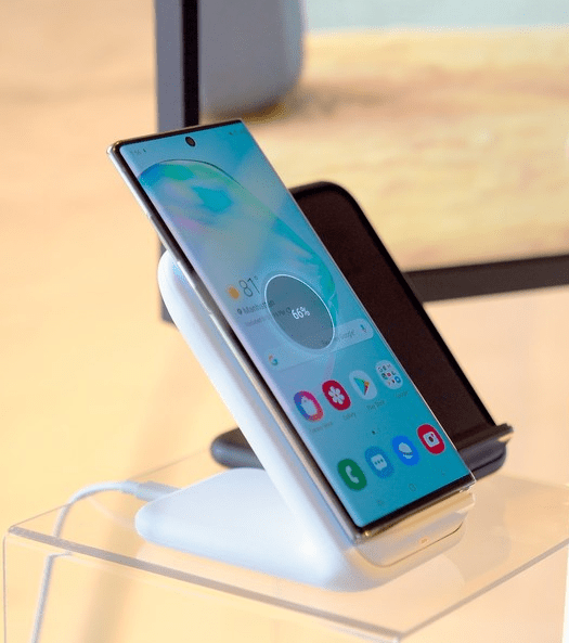 Note10 wireless charging