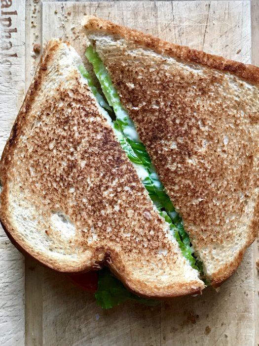 grilled BLT sandwich